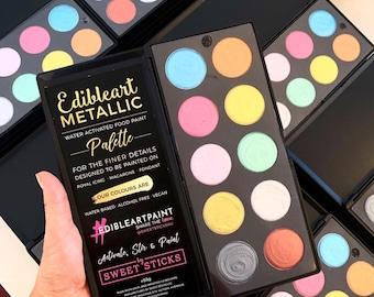 Edible Metallic Paint Palette by Sweet Sticks