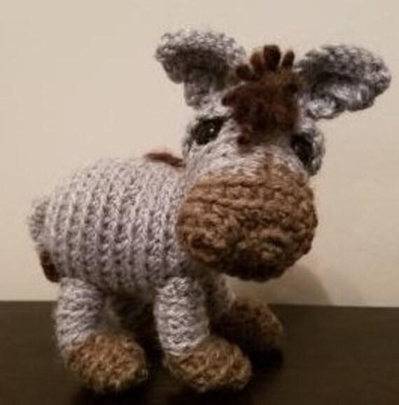 Amigurumi Cute Donkey Crochet Pattern » Amigurumi Crochet Patterns ... | 579x570