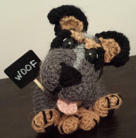 Australian Cattle Dog Crochet Pattern Blue Heeler Etsy