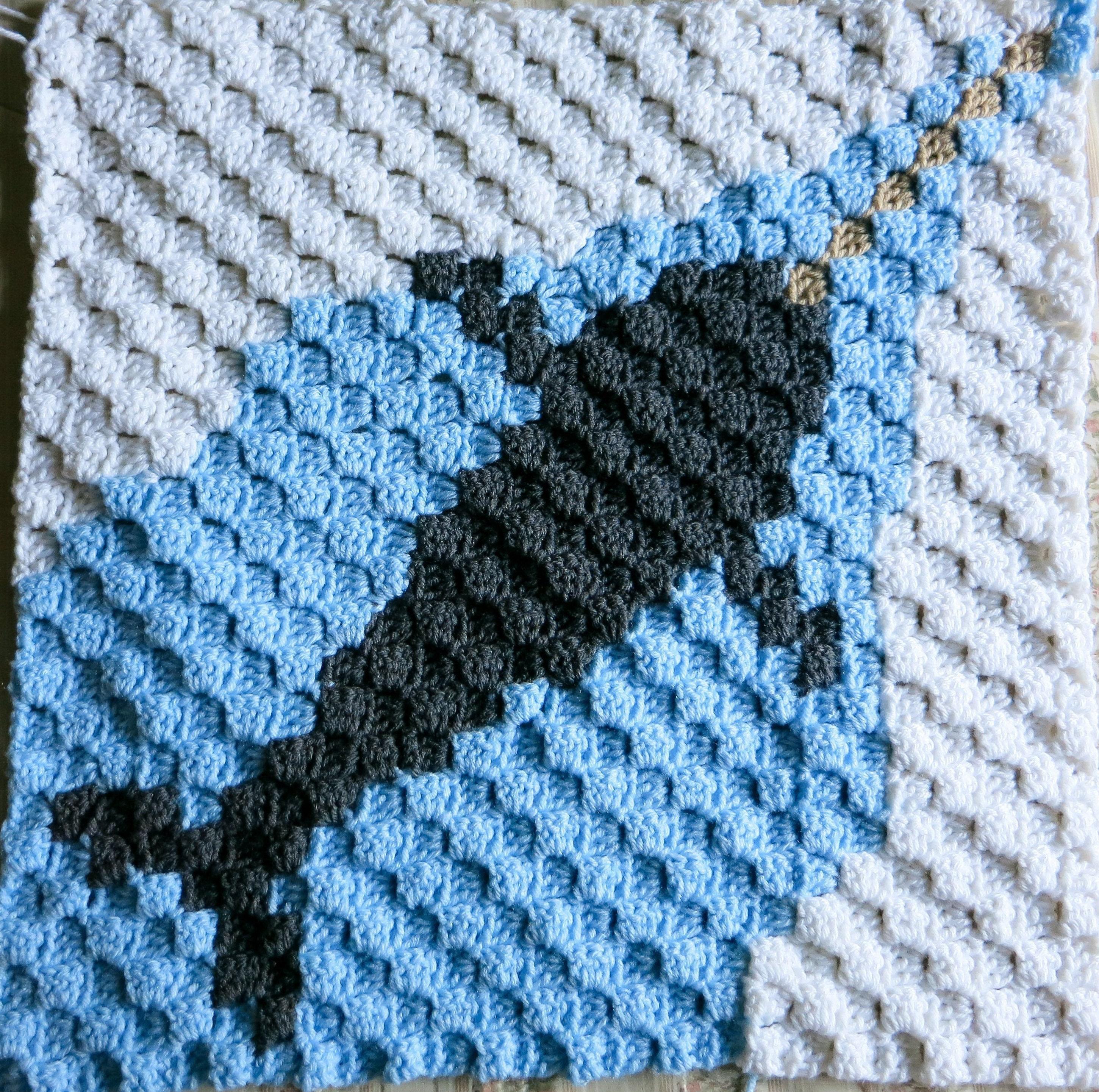 8 Arctic Animals C2c Crochet Graph Only Pattern Pdf Download Etsy