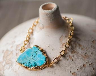 Turquoise Bracelet, December Birthday, December Birthstone, Turquoise Jewelry, Boho Bracelet,Turquoise Jewelry,Blue bracelet,Beach Bracelet