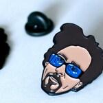 Tim Burton Pin  - Soft Enamel
