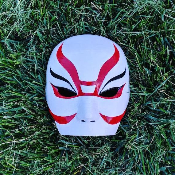 Big Hero 6 Yokai Mask Callaghan S Mask Cosplay 3d Etsy