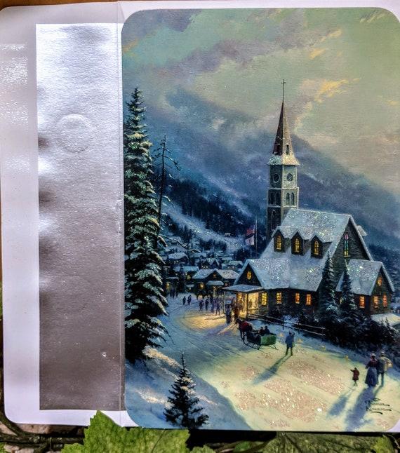 2 Boxes of Thomas Kinkade Moonlit Village 36 Cards