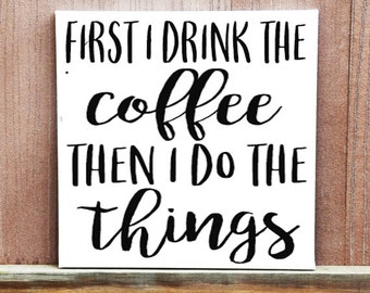 Coffee Then I Etsy