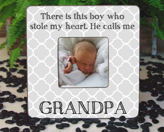 Papa Christmas Gift Grandparent Frame Grandfather Gifts Dad | Etsy