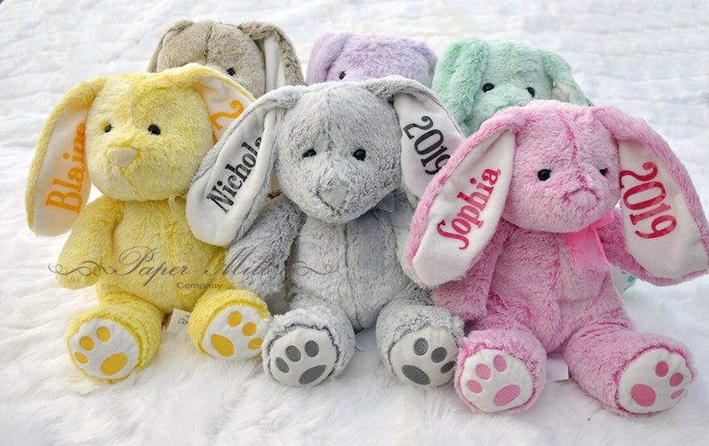 Personalized Baby Stuffed Animals, Personalized Baby Gift Personalized Stuffed Animal Baby Etsy