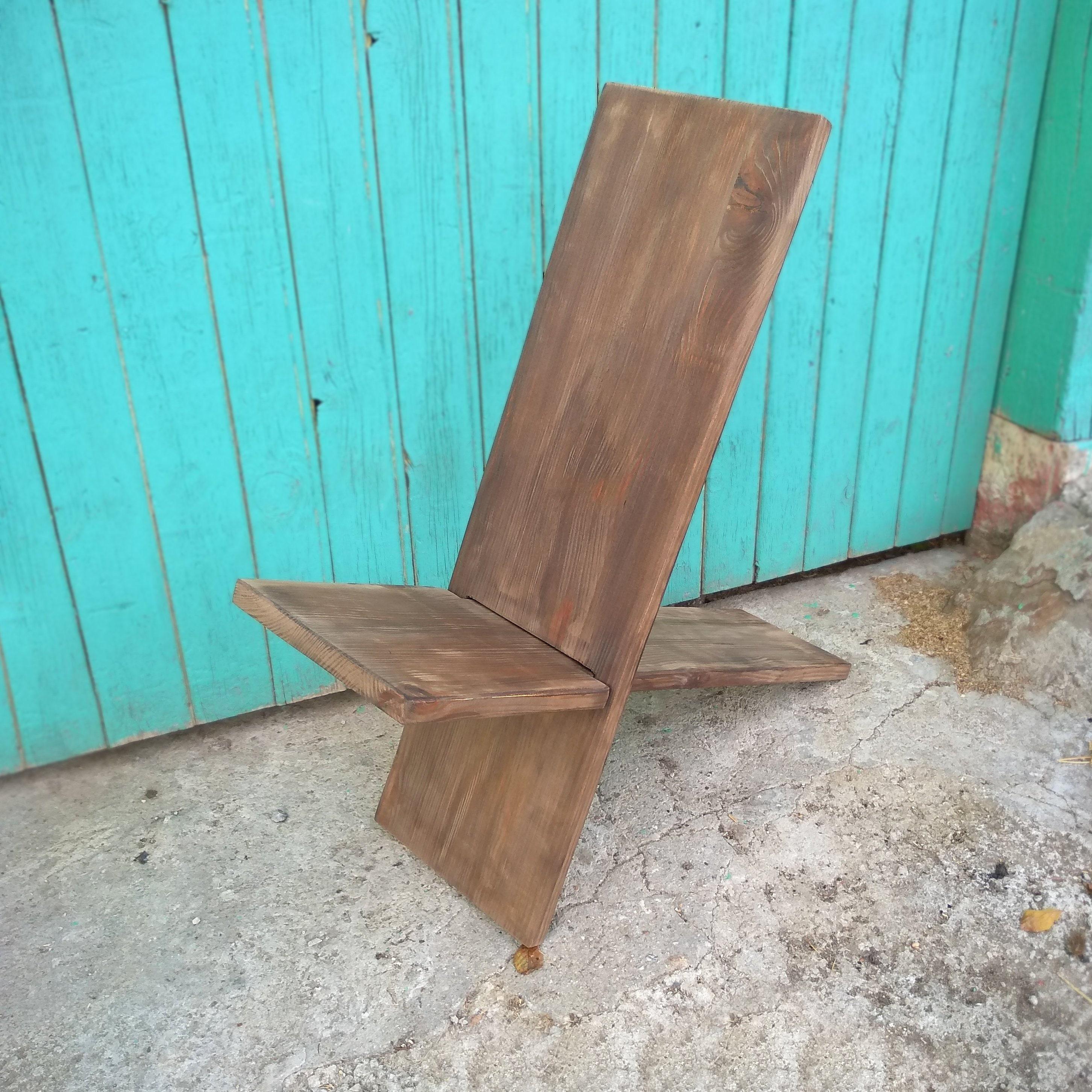 Awe Inspiring Viking Chair Stargazer Chair Foldable Wooden Chair Two Piece Garden Furniture Holzstuhl Camp Chair Rustic Yard Chair Download Free Architecture Designs Rallybritishbridgeorg
