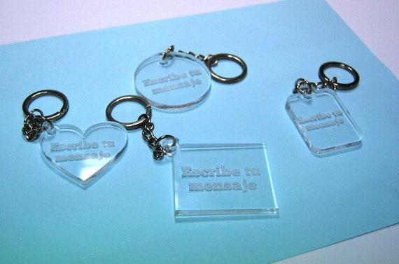7bba48e6ec41 Porte-clés gravé personnalisé   Etsy