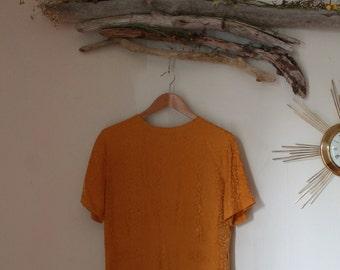 Silk Blouse Size: M/L