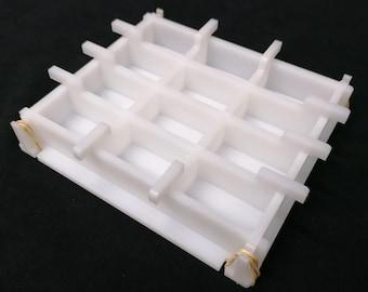 Economic Series - HDPE Soap Tile Mold