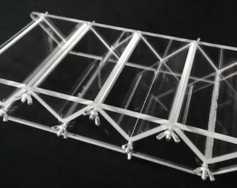 Triangle Shaped Loaf Acrylic Soap mold