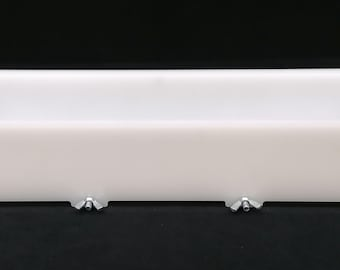 HDPE Soap Loaf mold with optional color Separators
