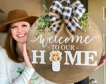 Seasonal Home Sign Etsy