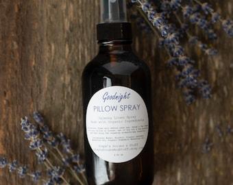 Calming Lavender Vanilla Linen Spray, Relaxing Pillow Spray, Calming Room Spray, Calming Aromatherapy Spray, Air Freshener, Room Refresher