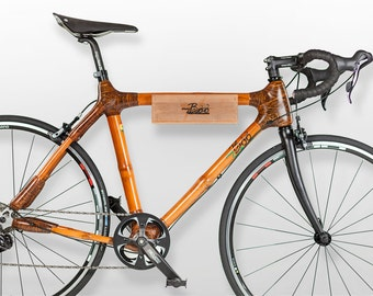 Bicycle Holder out of Bamboo