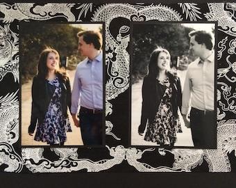 Custom Engagement/ Wedding Scrapbook Album
