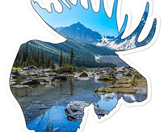 Banff Moose Sticker