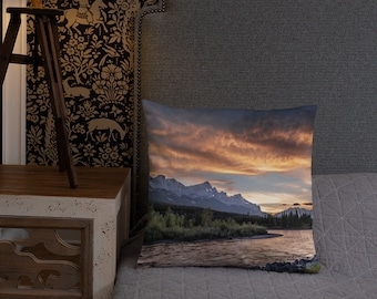 Canmore Mountain Pillow