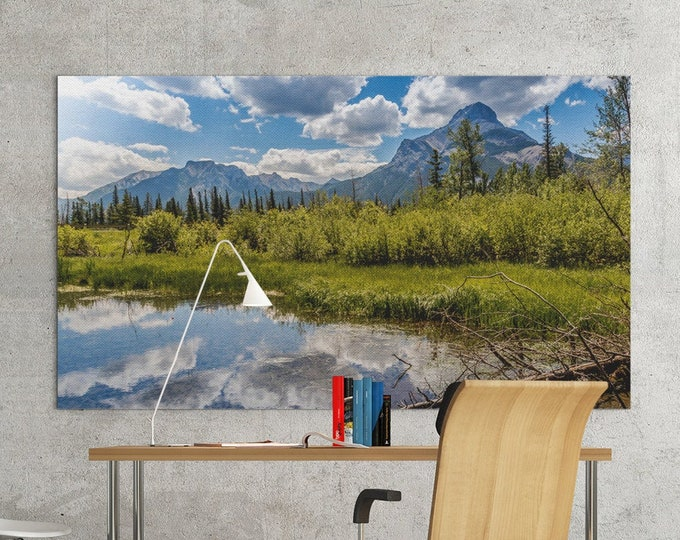 Canadian Rockies Photography Print and Canvas Wall Art