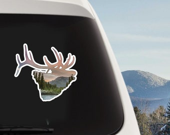 Vinyl Elk Sticker