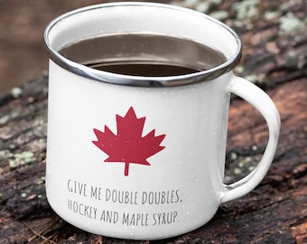 Canada Enamel Mug