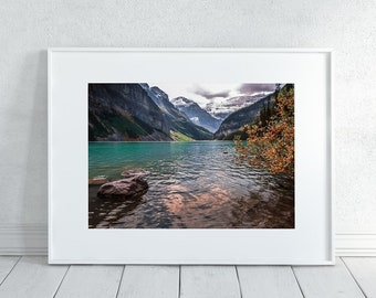 Mountains in the Fall Photography Print