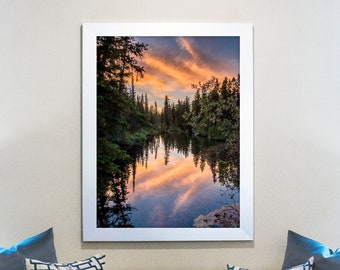 Colorful Sunset Photography Print