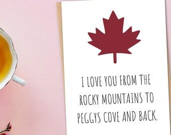 Canada Anniversary Card