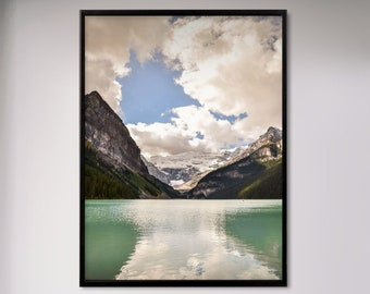Lake Louise Photography Print and Canvas Wall Art