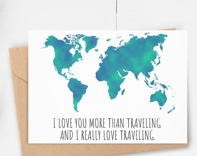 Travel Greeting Card