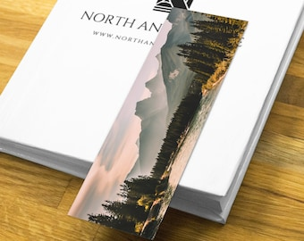 Mountain Print Bookmark