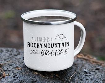 Rocky Mountain Enamel Mug