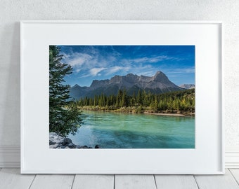 Mountains Photography Print
