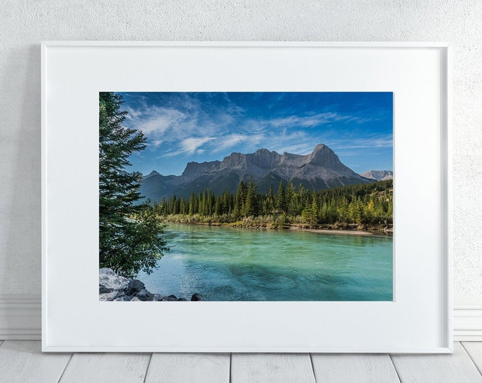 Mountains Photography Print