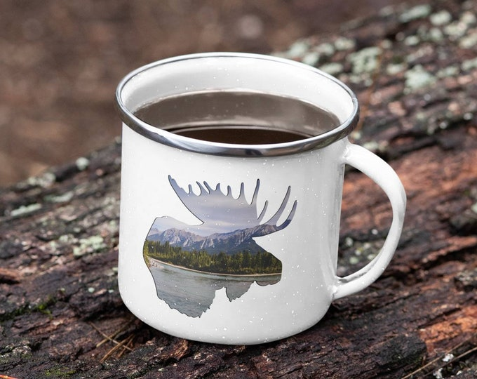 Rocky Mountain Moose Mug
