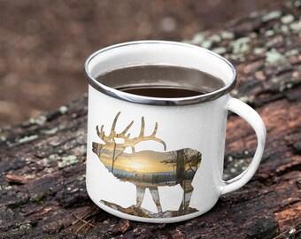 Elk Camping Mug