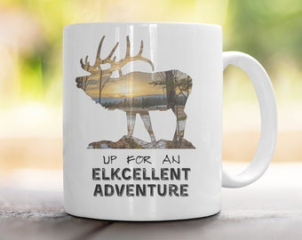 Elkcellent Adventure Mug
