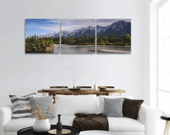 Mountain Canvas Wall Art Set of 3