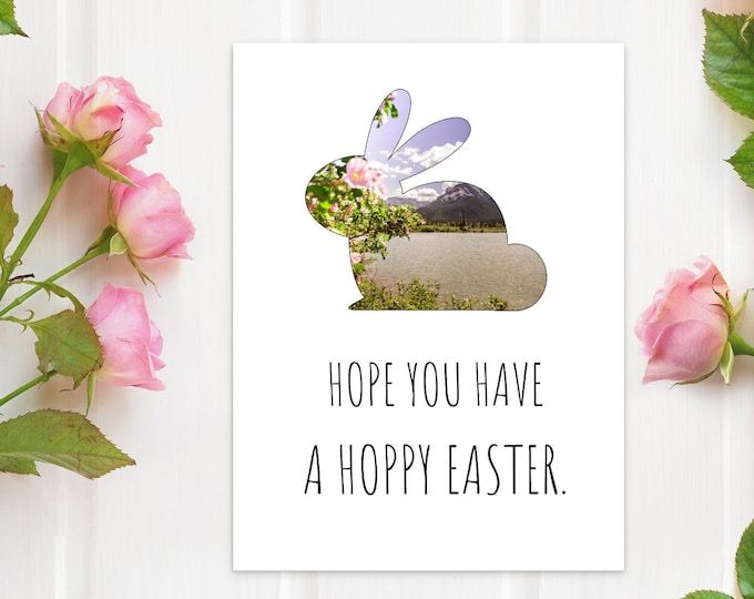 Funny Bunny Easter Card
