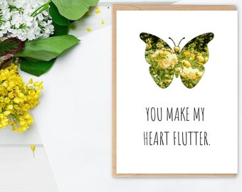 Funny Butterfly Card