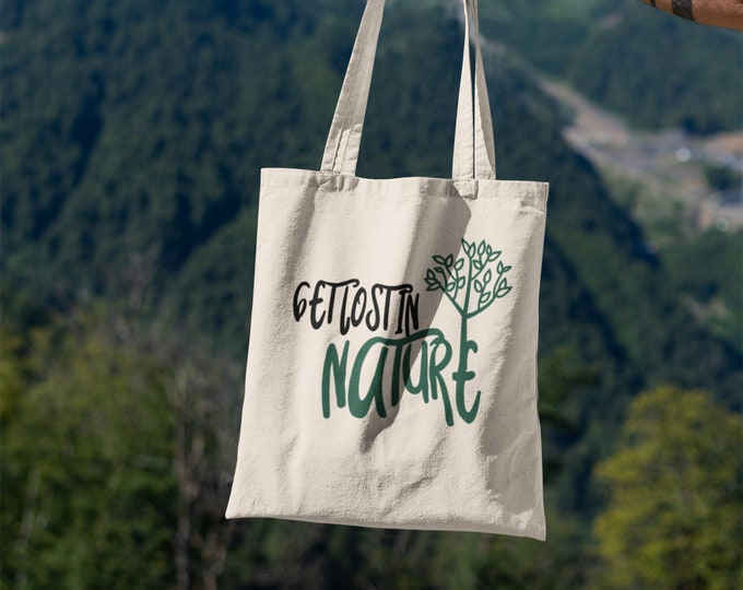 Get Lost in Nature Tote Bag
