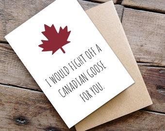 Canada Greeting Card