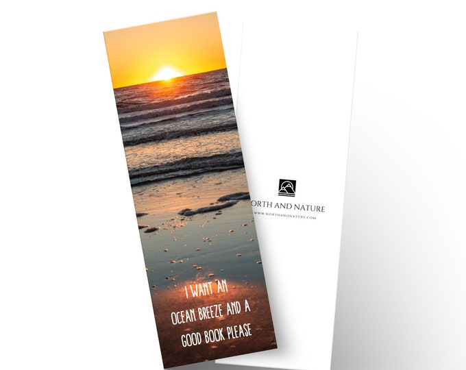 Beach Bookmark