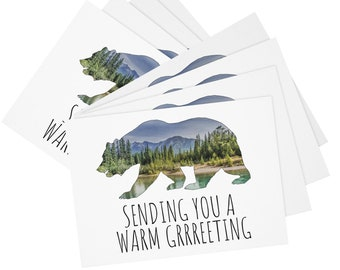 Bear Greetings Postcards