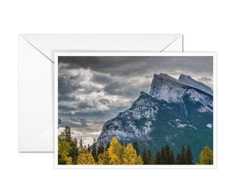 Blank Banff Greeting Card