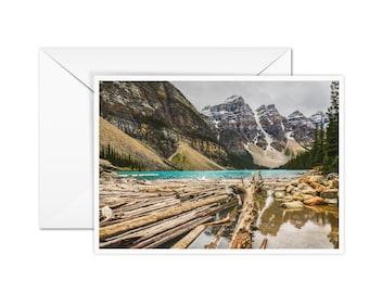 Blank Moraine Lake Card