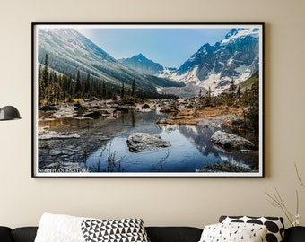 Banff Photography Print and Canvas Wall Art