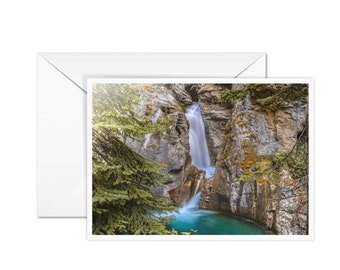 Blank Waterfall Card