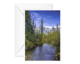 Blank Rocky Mountains Card
